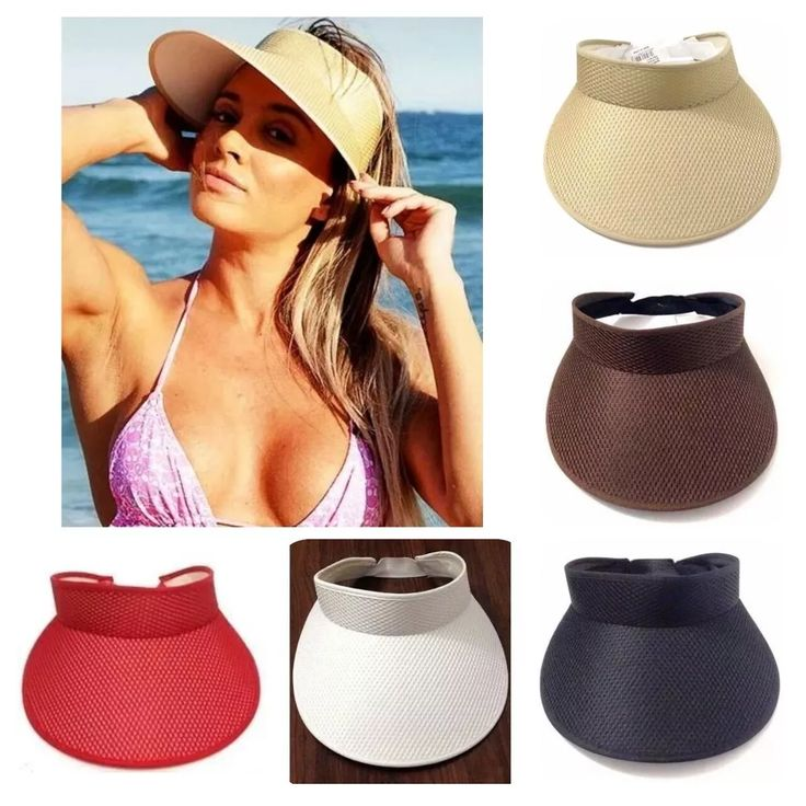 viseira chapéu de praia igual da juju salimeni - cores