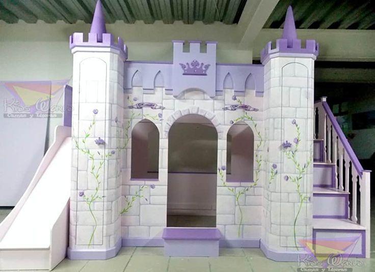 fotos de infantiles de estilo hermoso castillo litera para nias
