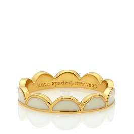 scalloped ring.