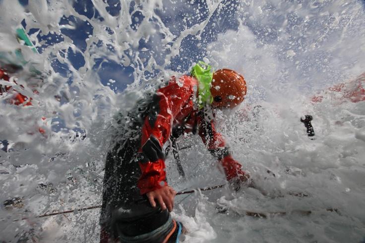 Leg 1 - Day 10 - Groupama in the Volvo Ocean Race