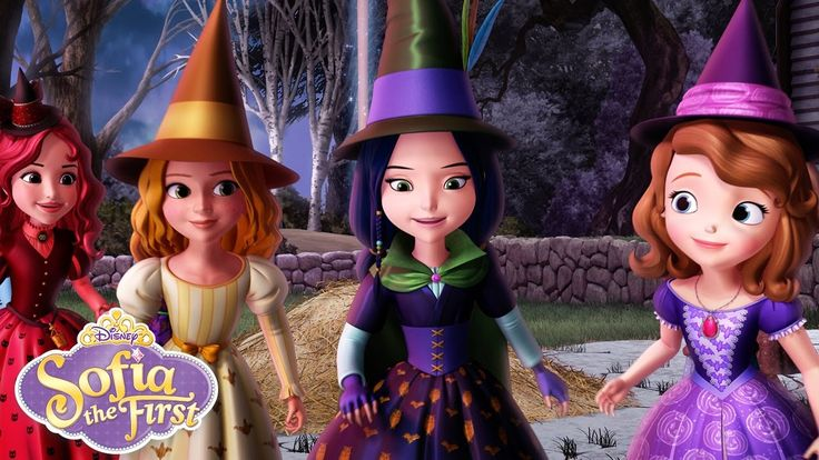 The Broomstick Dance | Music Video | Sofia the First | Disney Junior - YouTube