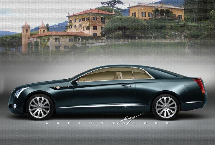 2014 Cadillac XTC V12 pillarless coupe   Alpha Male Cool ...