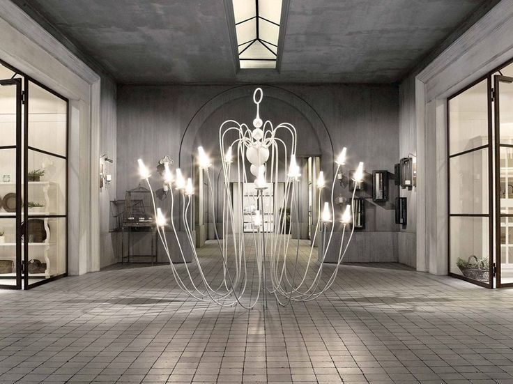 HALOGEN FLOOR LAMP ANEMONE OBJECTS COLLECTION BY MINACCIOLO