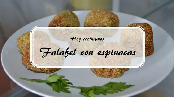 Falafel con espinacas