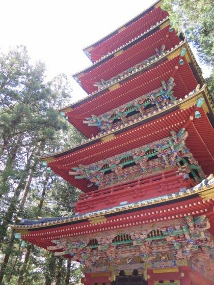 Toshogu Shrine and temple in Nikko Japan
