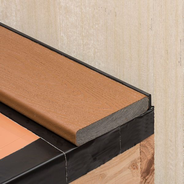Installation Under Deck Drainage System Trex Rainescape