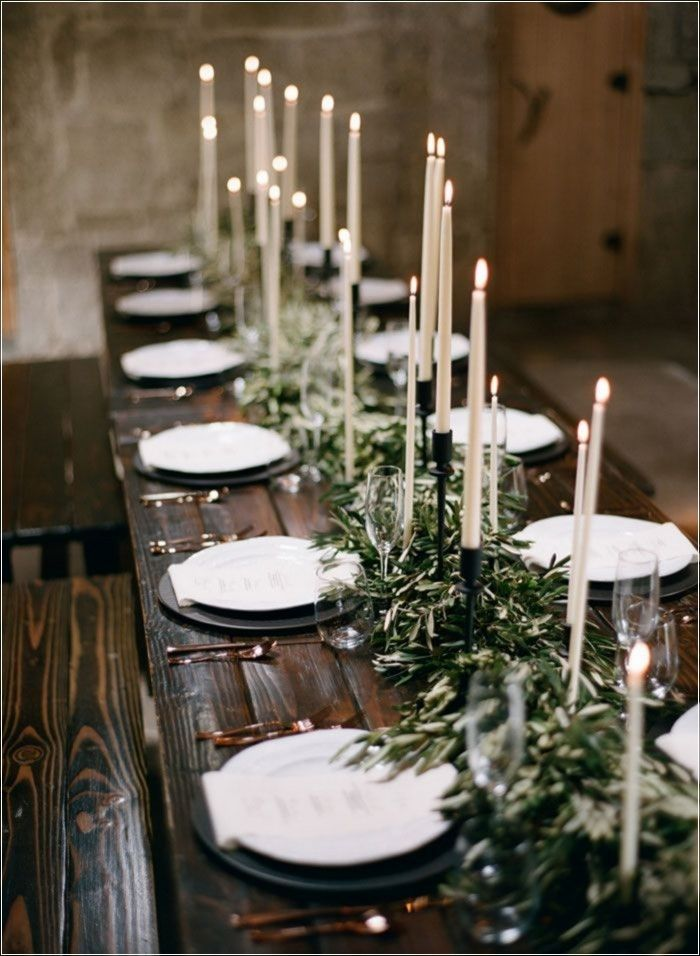 pinterest wedding table decorations candles%0A     Adorable Wedding Dinner Table Ideas