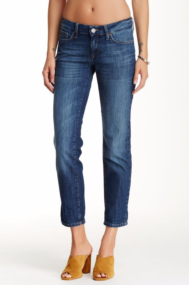 Mavi Kerry Relaxed Ankle Jean in Used Nolita size 29-30 NWT $98 #MaviJeans #Straightleg