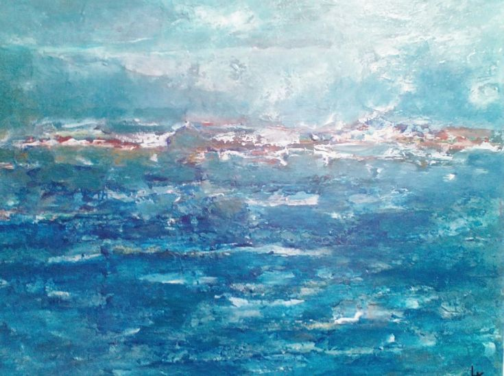 Buy Seascape, Acrylic painting by Larysa Khomenko on Artfinder. Discover thousands of other original paintings, prints, sculptures and photography from independent artists.