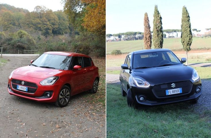 Suzuki Swift 1.0 Boosterjet S VS 1.2 Hybrid 4WD AllGrip Top