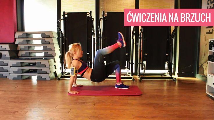Ćwiczenia na brzuch / trening na mięśnie brzucha/ trening na płaski brzuch / ćwiczenia na płaski brzuch