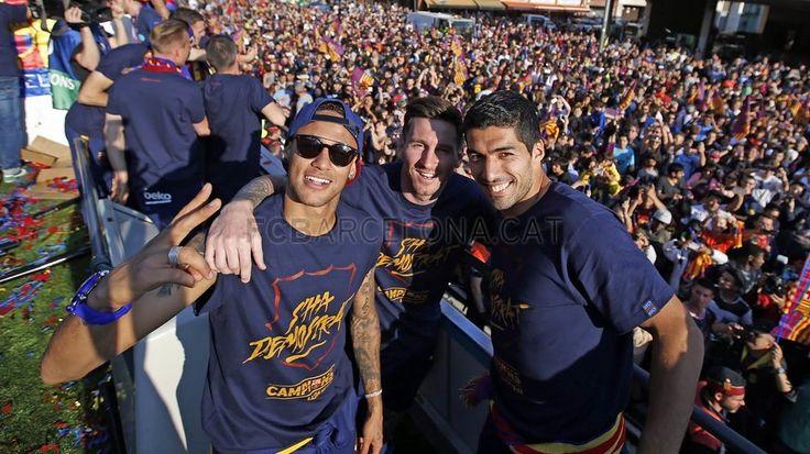 We are the Champions! | Campions de Lliga! | ¡Campeones de Liga! #FCBarcelona #Liga #CampionsFCB #FansFCB #FCBWorld