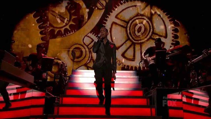 "Joshua Ledet - ""It's a Man's Man's Man's World"" - American Idol: Season ..."