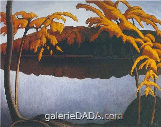Lawren Harris,  Northern Lake II Fine Art Reproduction Oil Painting
