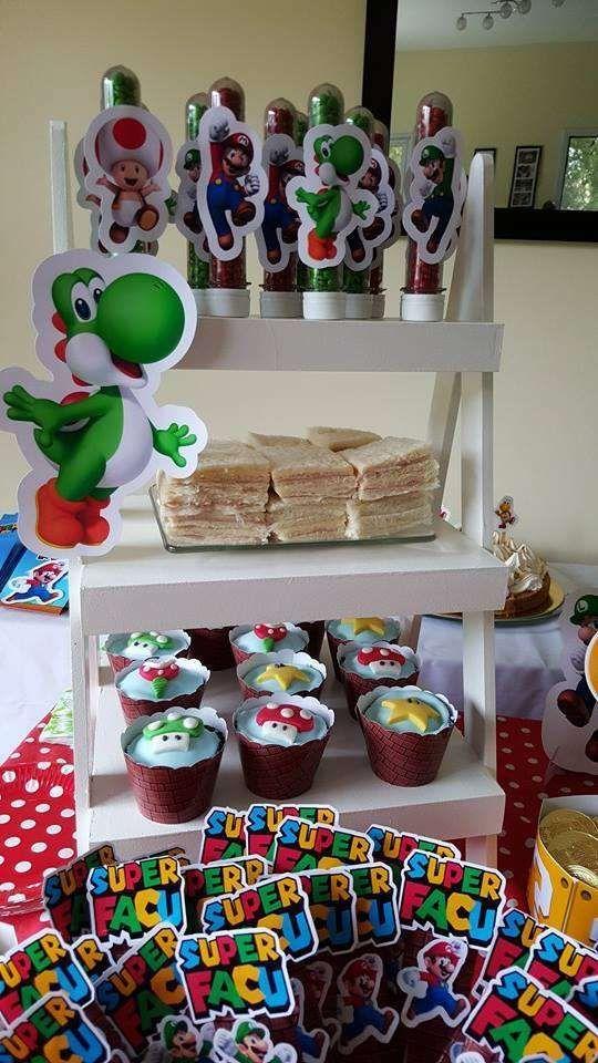 Super Mario Bros Birthday Party Ideas Super Mario Bros