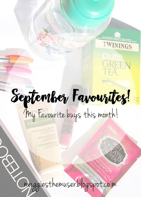 Take a look at my favourite buys from September! Lot's of beauty and lifestyle picks! (& very inexpensive)