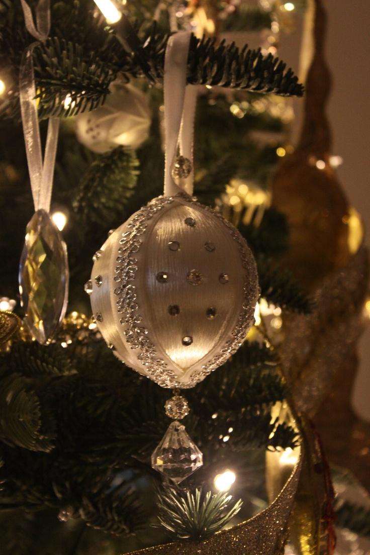 Christmas Ornament Swarovski Crystal
