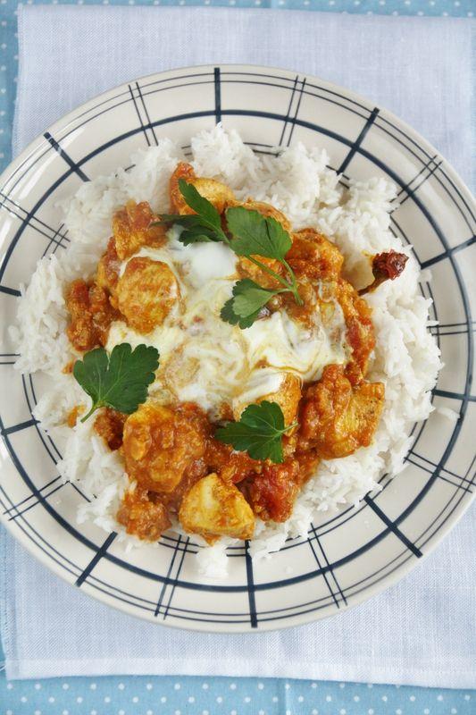 Poulet tikka masala de Jamie Oliver