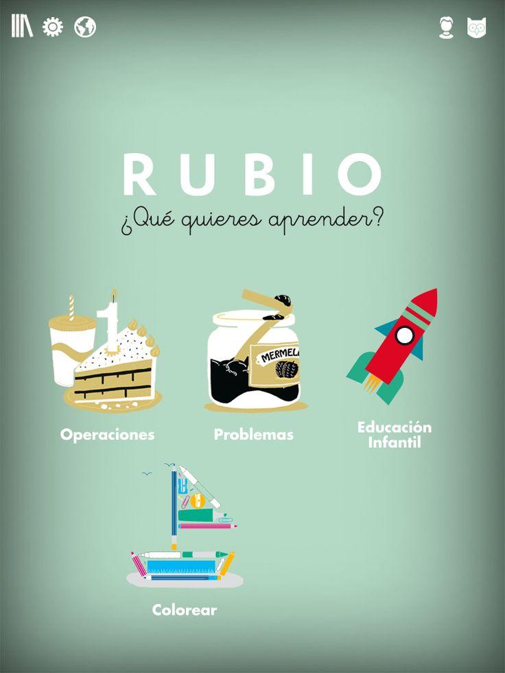 Los tradicionales Cuadernos Rubio de papel ahora en tu tablet, con un sistema intuitivo y muy fácil de utilizar. Tus hijos podrán llevárselo donde quieran y hacer los ejercicios sin ayuda de nadie. Una manera distinta de aprender y jugar al mismo tiempo.