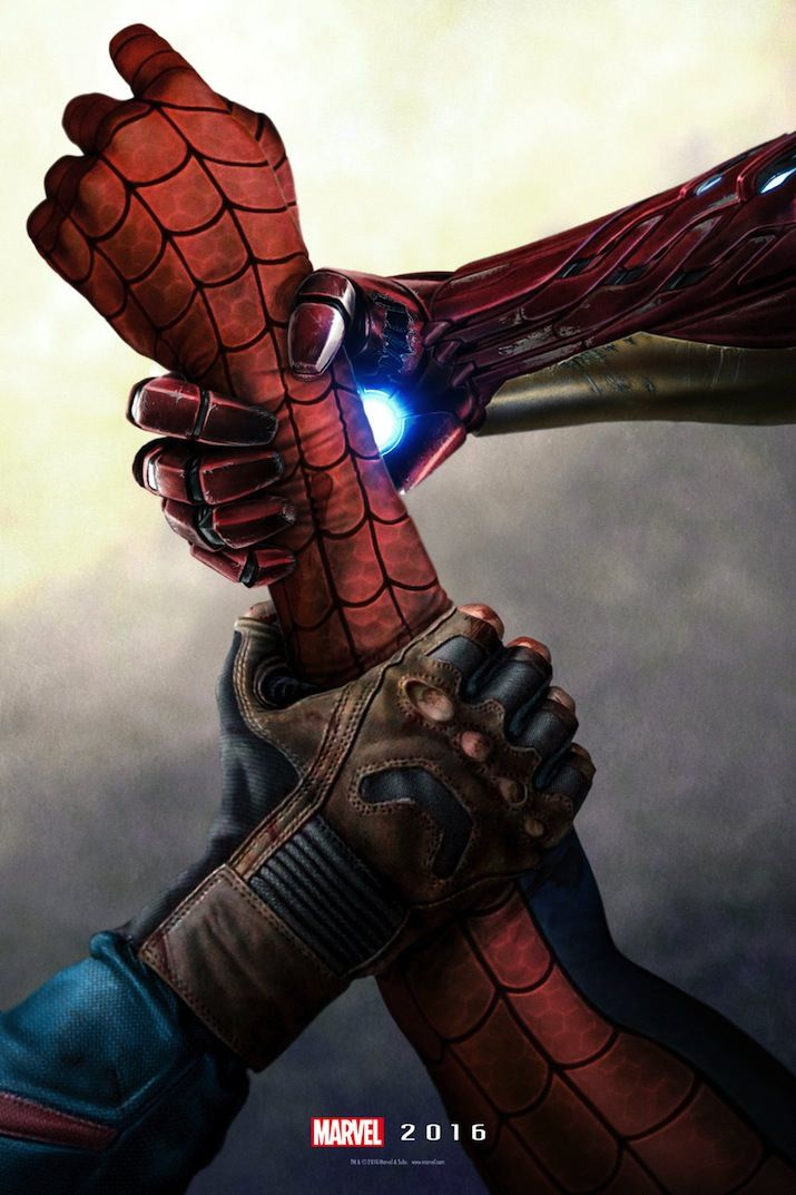 This Fan-Made Captain America: Civil War Poster is Just Perfect