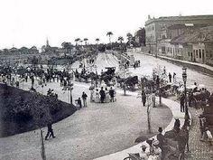 Campo de São Cristovão - São Cristóvão - Rio de Janeiro  -Inauguração - ano de 1906
