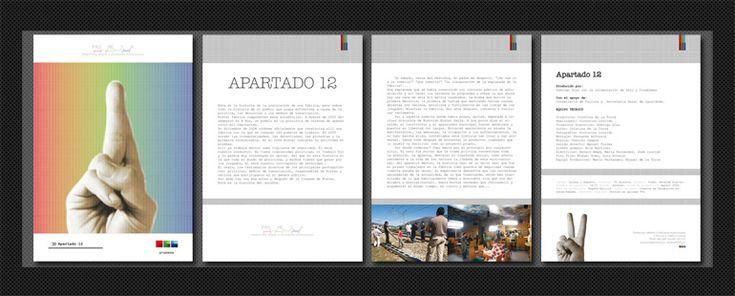 { Apartado 12 } DOCUMENTAL. Dossier de proyecto audiovisual. Su diseño y creatividad son parte de la identidad corporativa, gráfica y web realizadas para la Productora de Medios y Soluciones Audiovisuales, PROMESA.