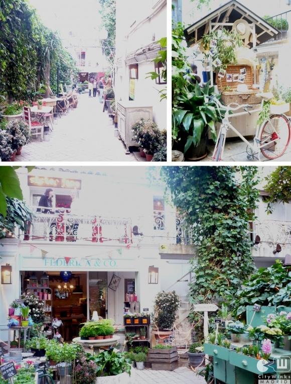 Uno de los más bonitos y originales cafés en Madrid. El Jardín Secreto ☺
