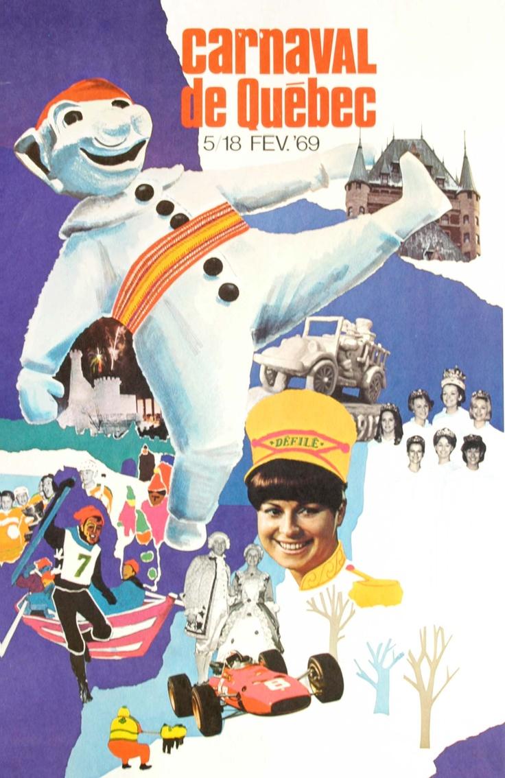 Affiche - Carnaval 1969 / Poster - Carnival 1969  Le Carnaval dans le ...