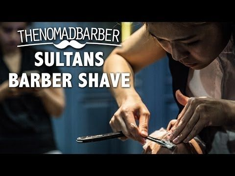 Sultans Barber Shave (Singapore) - YouTube