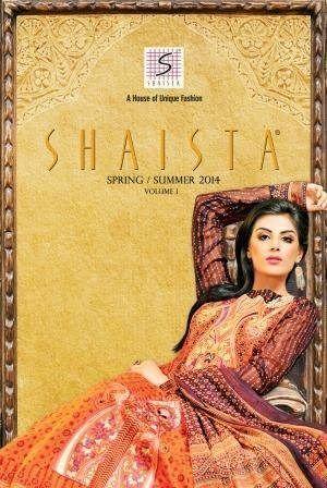 Shaista Cloth Summer Dresses 2014 Volume 2 For Women 0014