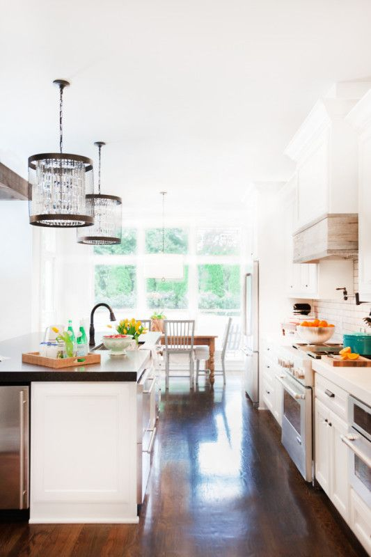 Designer Kendall Simmons Chose Kid Friendly Materials For The Kitchen Like Stone Granite And