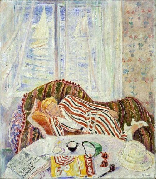 'Summer Interior', 1933 - Arne Kavli (1878–1970)