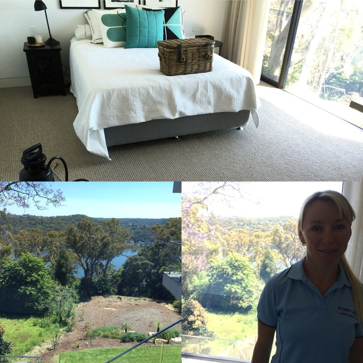 Here is a house we cleaned today  We steam cleaned the carpet and lounges  They came up fantastic  And look at the view  #carpetcleaning #Upholsterycleaning #sydney