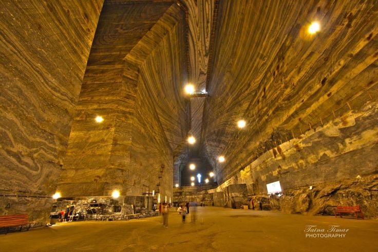 Prahova Salt Mine (Slanic Prahova), Romania