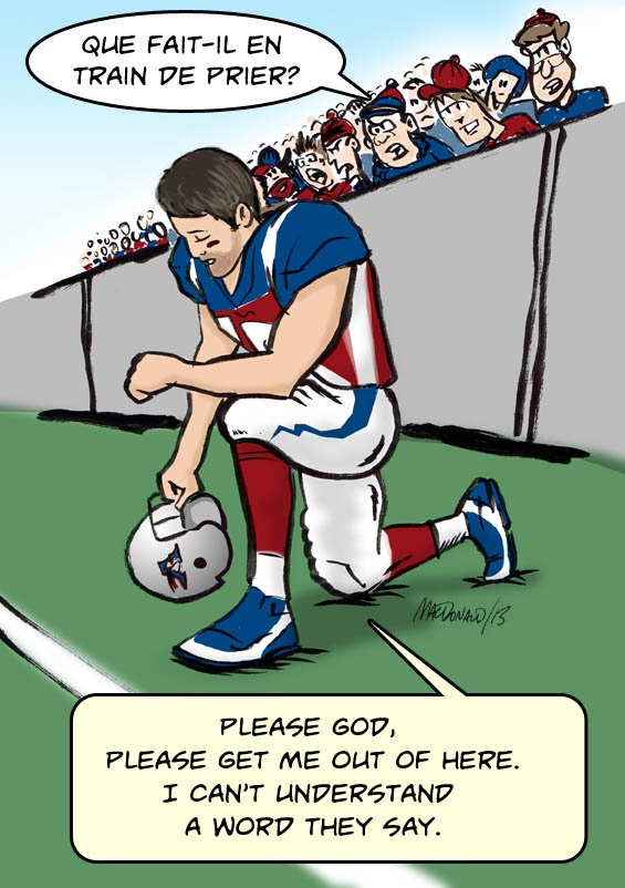 If Tim Tebow should join the Montreal Alouettes in the Canadian Football League.