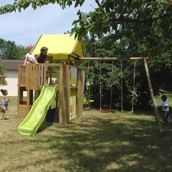 17 meilleures id es propos de portique balancoire sur pinterest balancoire enfant cabane - Balancoire pour enfant ...