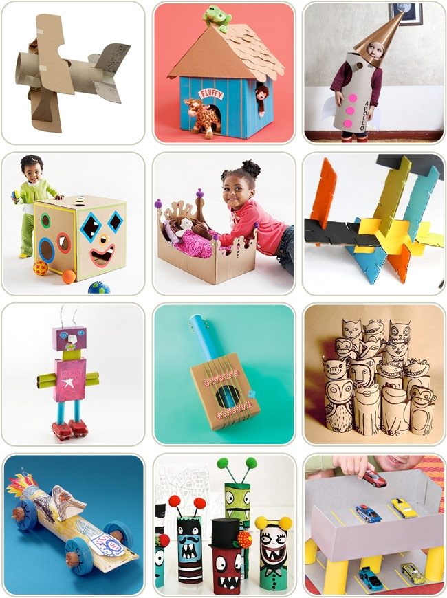 Cardboard Box Crafts For Kids Nothing Better Than A Cardboard Box