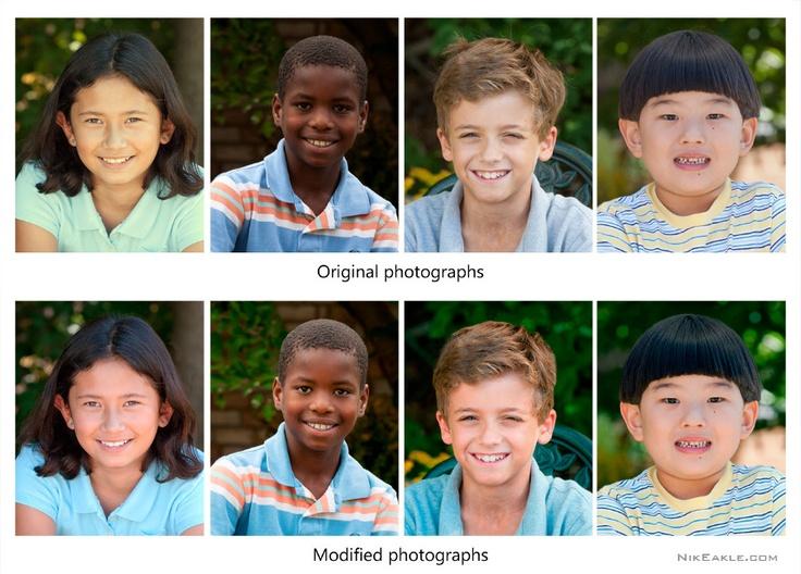 """Portraits"". Photo Retouching. 2012."
