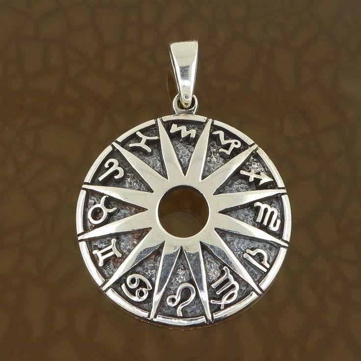 Sterling Silver 925 Pentagram Large Pendant (37 MM Diameter And Weighs 10 Grams) f8fjVl9