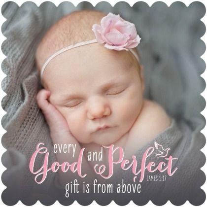 Good and Perfect - #Baptism, #Christening Invitations - Sarah Hawkins Designs - Princess Pink