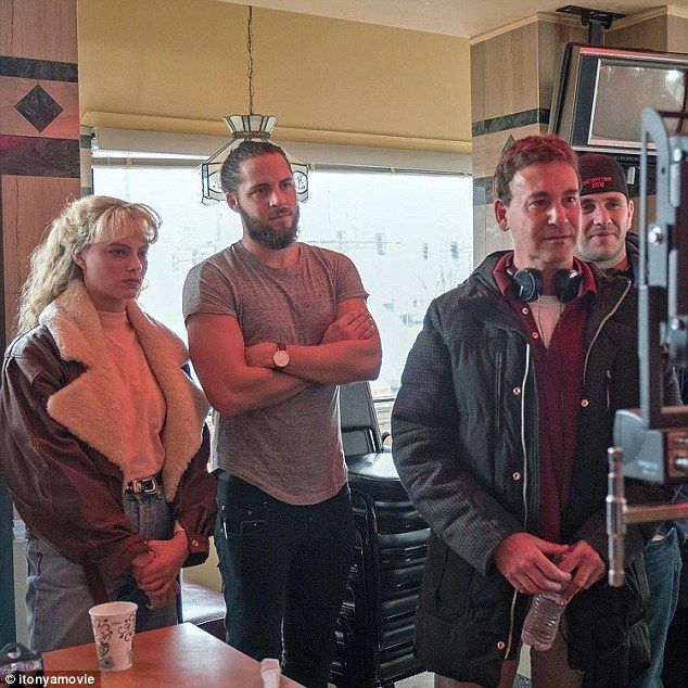 Power couple! Margot Robbie and her husband Tom Ackerley seen in rare behind-the-scenes ph...
