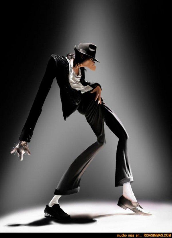 Caricatura Michael Jackson   Risa Sin Más