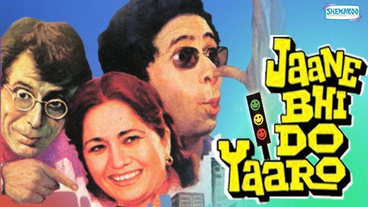 Jaane Bhi Do Yaaro - Hindi Comedy Movie - Naseeruddin Shah | Bhakti Barve