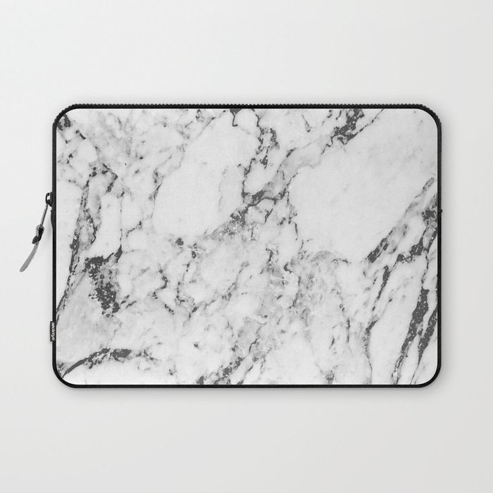 Marble Laptop Sleeve by MatiasMilton