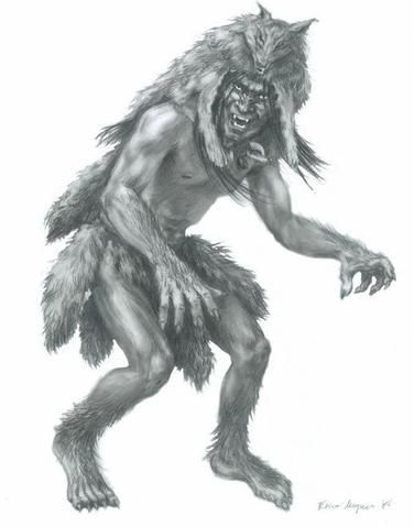 The Skinwalker - A witch who can take the form of any animal it wishes by wearing its skin. Description from pinterest.com. I searched for this on bing.com/images