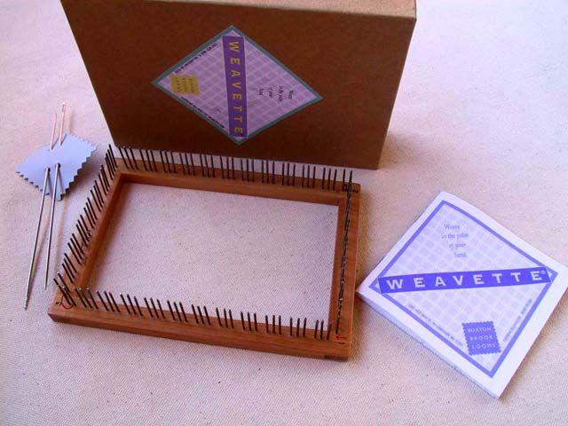 Rectangular Loom Knitting Patterns For Beginners : Rectangular weavettes pin loom looms and weaving