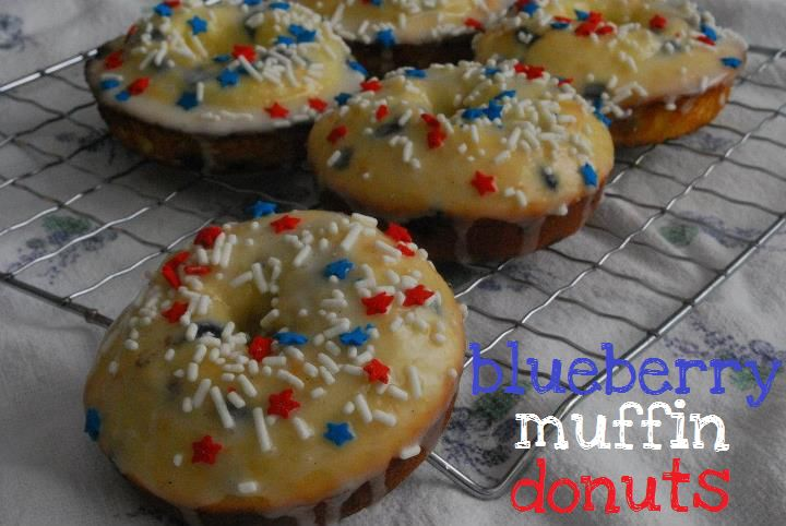Blueberry muffin donuts blue berry muffins blueberry