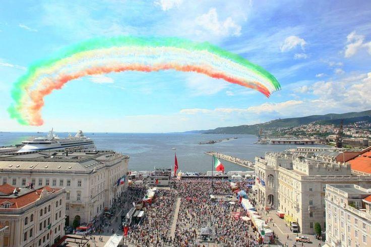 Frecce Tricolori a Trieste, 1 giugno 2014