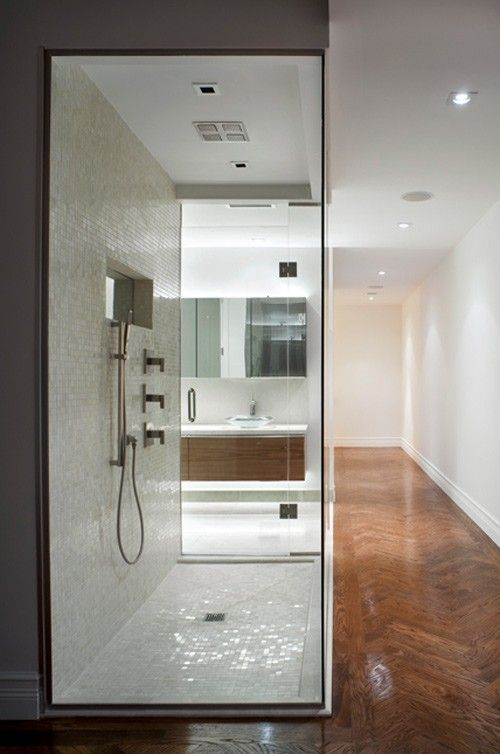 Steam Shower.---FOR BACK WALL