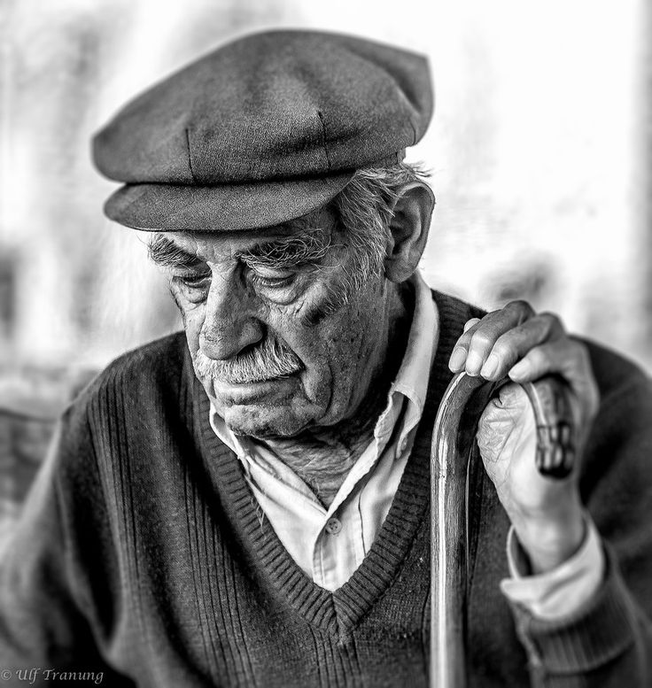 Old greek man by Ulf Tranung on 500px
